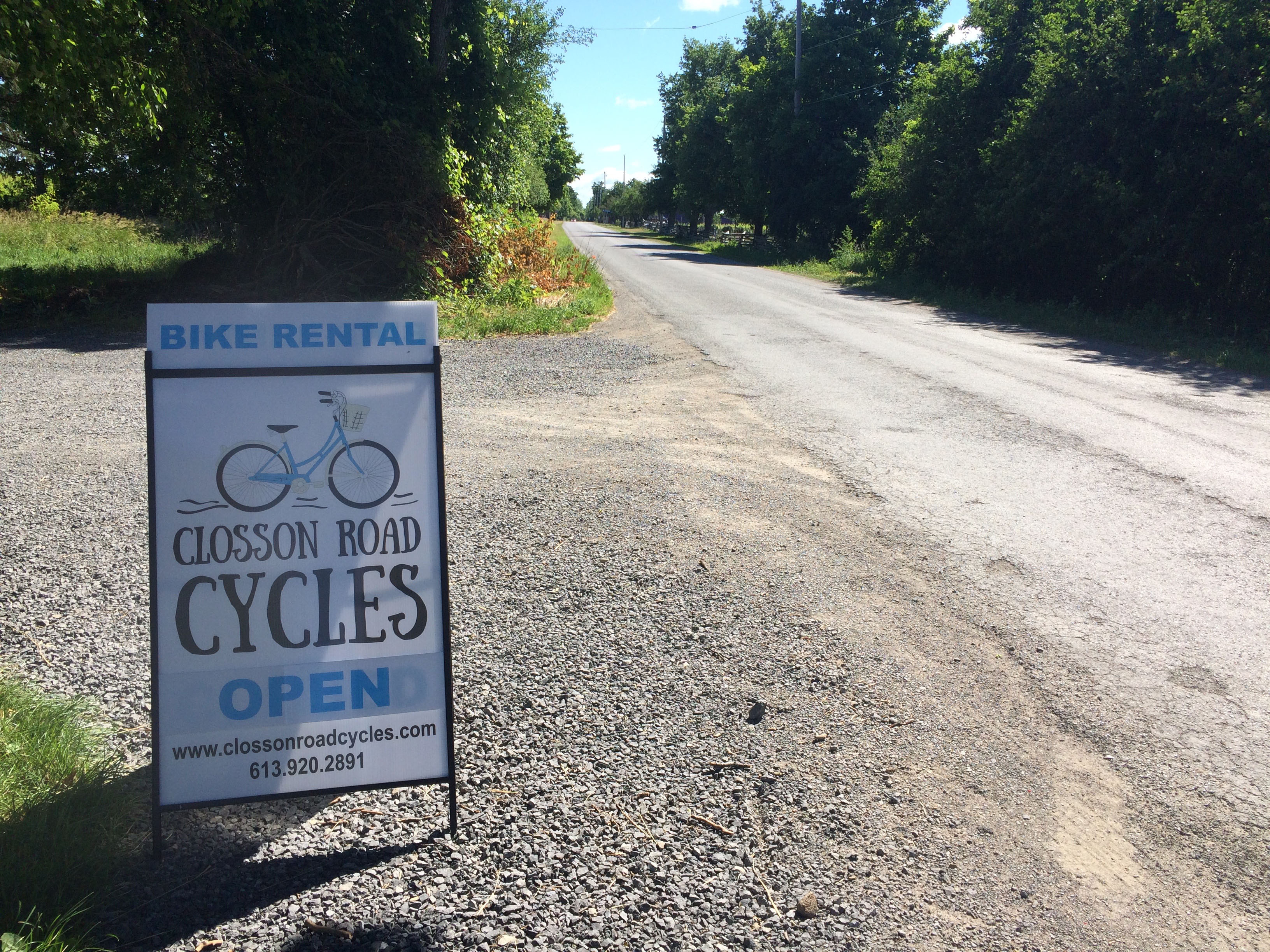Bike Rental Prince Edward County